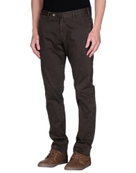 Luigi Borrelli Napoli Casual Pants Dark Brown