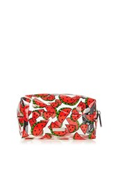 Topshop Watermelon Make Up Bag By Skinnydip Red
