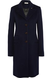 Balenciaga The Classic Cashmere Coat Midnight Blue