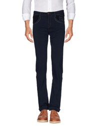 Carlo Chionna Trousers Casual Trousers Dark Blue