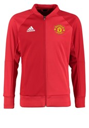 Adidas Performance Manchester United Tracksuit Top Power Red Real Red