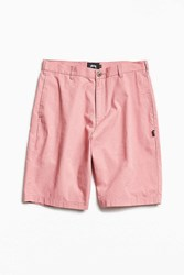 Stussy Classic Gramps Twill Short Pink