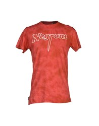 Blomor Topwear T Shirts Men Red
