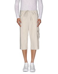 Band Of Outsiders Trousers 3 4 Length Trousers Men Beige