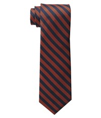 Jack Spade Oxford Circus Stripe Tie Orange