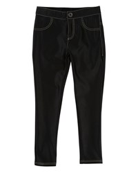 Little Marc Jacobs Satiny Stretch Trousers Size 4 5 Black