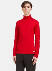 Gucci Bee Embroidered Roll Neck Sweater