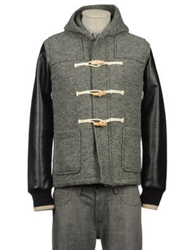 Dueperuno Mid Length Jackets Military Green