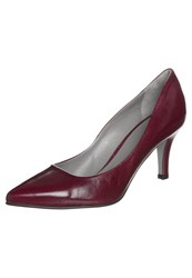 Noe Nica Classic Heels Blood Dark Red
