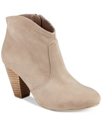 Report Marque Ankle Booties Women's Shoes Taupe