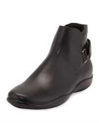 Prada Pull On Boot With Strap Black