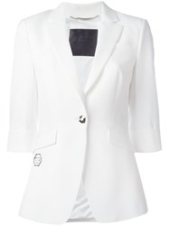 Philipp Plein Polaris Blazer White