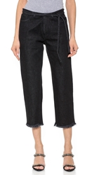 Marques Almeida Cropped Fitted Jeans