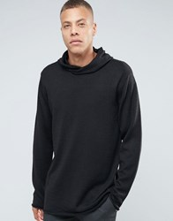 Weekday Elliot Hoody Knit 09 090 Black