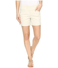 Jag Jeans Ainsley Pull On 5 Shorts In Bay Twill Stone Women's Shorts White