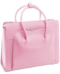 Mcklein Lake Forest Briefcase Pink