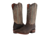 Dan Post Ethan Chocolate Bone Cowboy Boots Brown