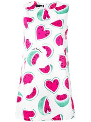 Love Moschino Watermelon Print Dress White