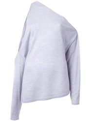 Dion Lee Long Sleeved Falling Knit Grey