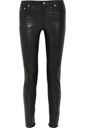 Blk Dnm 22 Leather Skinny Pants