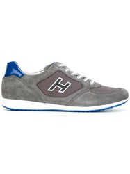 Hogan Lace Up Sneakers Grey