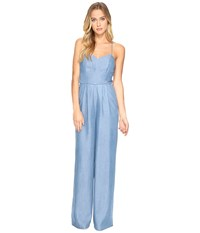 Lovers Friends Anna Jumpsuit Medium Wash Women's Jumpsuit And Rompers One Piece Navy