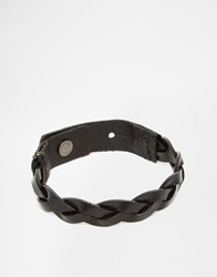 Jack And Jones Jack And Jones Leather Wrap Bracelet Black