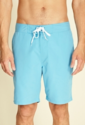 Forever 21 Lace Up Swim Trunks