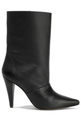 Iro Woman Textured Leather Boots Black