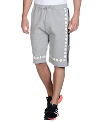 Adidas Originals By Pharrell Williams Trousers Bermuda Shorts Light Grey