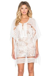 Parker Beach Palm Cover Up White