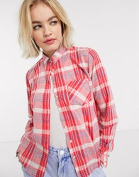Pepe Jeans Missy Shirt In Check Multi