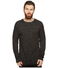 Publish Rellen Drop Shoulder Long Sleeve Black Men's Clothing