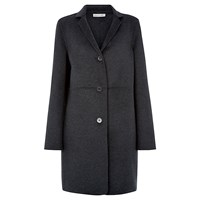 Damsel In A Dress Arosa Wool Coat Charcoal