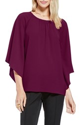 Women's Vince Camuto Kimono Sleeve Blouse Perfect Plum