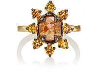 Cathy Waterman Women's Starburst Ring Gold