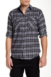 Burnside Flannel Shirt Gray