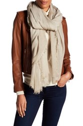 Zadig And Voltaire Lexy Scarf Beige