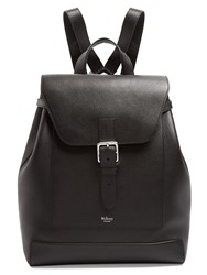 Mulberry Chiltern Grained Leather Backpack Black
