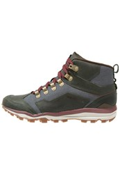 Merrell All Out Crusher Laceup Boots Rosin Oliv