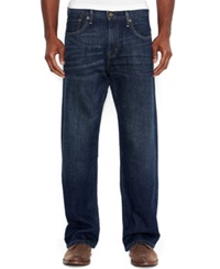 Levi's 569 Loose Straight Fit Dark Chipped Jeans Dark Chipped