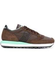 Saucony Lace Up Sneakers Brown