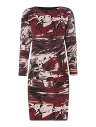 Max Mara Segovia Ballerina Printshift Dress Black