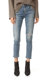 Citizens Of Humanity The Principle Girlfriend Jeans With Shadow Pockets Rampart