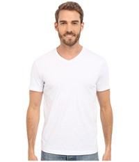Mod O Doc Premium V Neck Tee White Men's T Shirt
