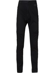 Julius Straight Leg Jeans Black