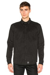Ssur Wool Button Down Black