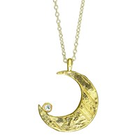 Chupi Wish Upon A Star Necklace In Maxi In Gold