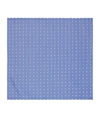 Harrods Of London Oxford Spot Silk Handkerchief Unisex