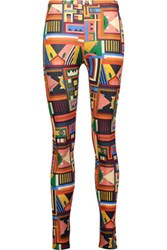 Just Cavalli Printed Stretch Jersey Leggings Multi